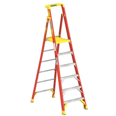 720 Series Fibreglass Podium Ladder