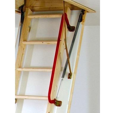 Red Metal Handrail