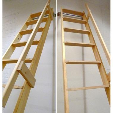 Timber Handrail for Loft Ladder
