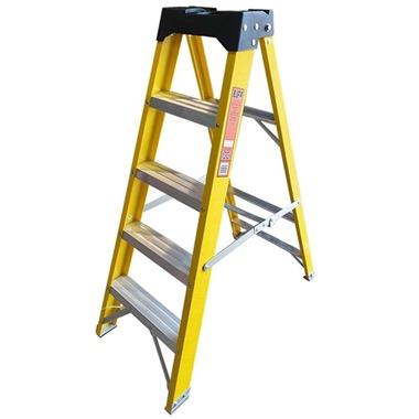 Super-Trade Glass Fibre Swingback Step Ladders