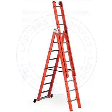 Glass Fibre V3 Combination Ladder