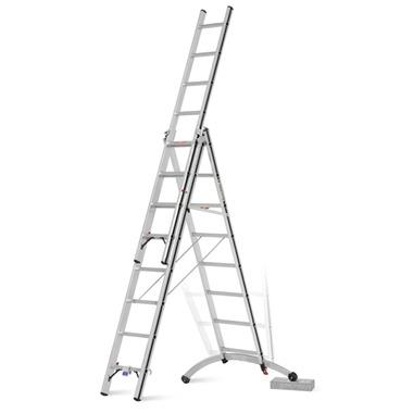 Hymer Smart Base Combination Ladder