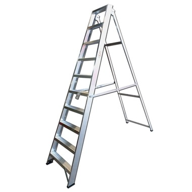 Heavy Duty Class 1 Swingback Step Ladders