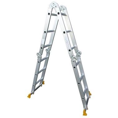Multi-Purpose Aluminium Ladder (4 x 3 Rungs)