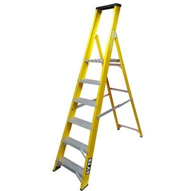 Trade Glass Fibre Platform Step Ladders