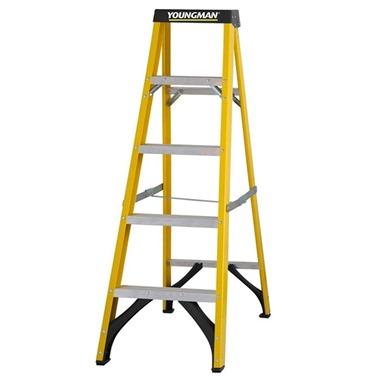 Youngman S400 Fibreglass Trade Step Ladder