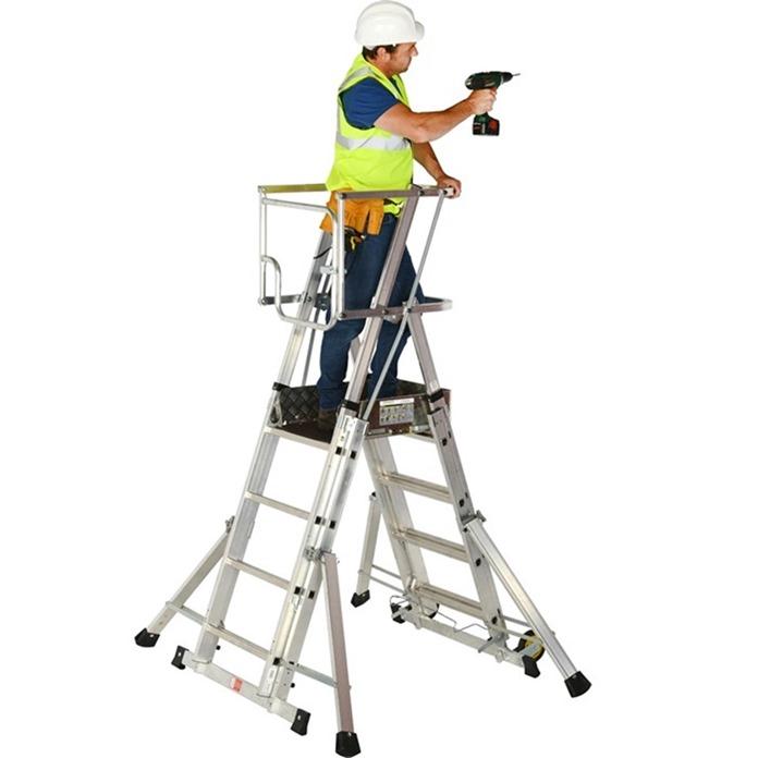 Teleguard Ladder (4 to 6 Rungs)
