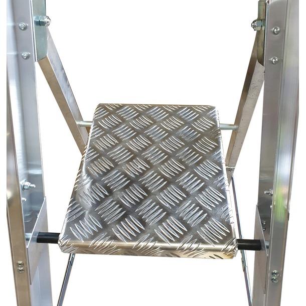 Professional Platform Step Ladders with Handrails