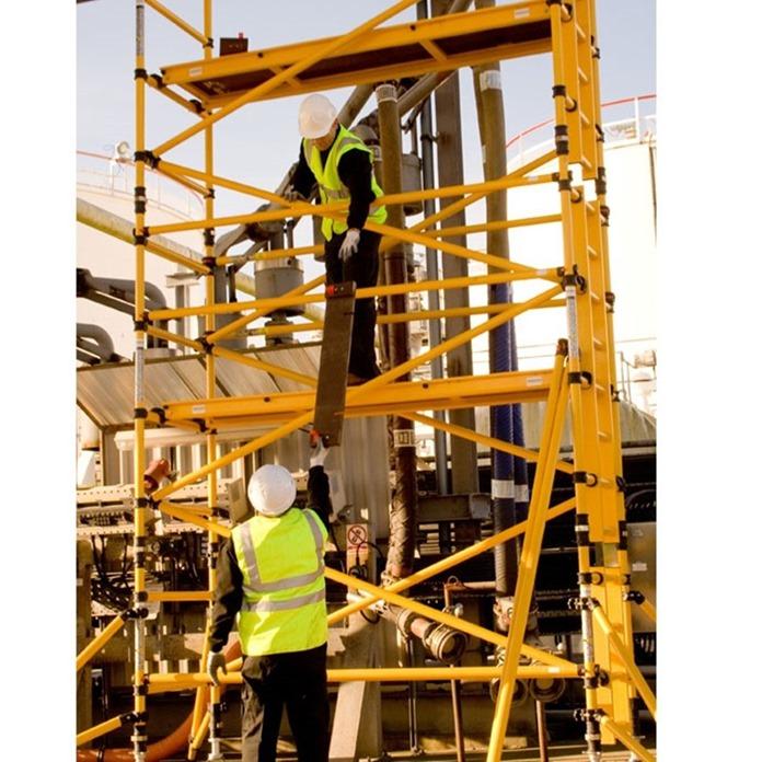 Boss Glass Fibre Single Width Scaffold Towers x 2.5m