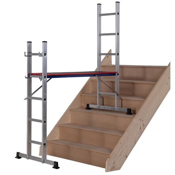 Werner Combination Ladder 5 in 1 with Platform