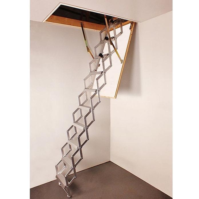 Columbus Piccolo Premium Aluminium Concertina Loft Ladder