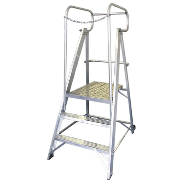 Heavy Duty Broadbase Safety Steps