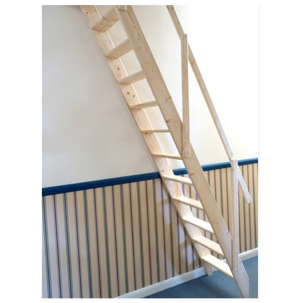 Dolle Arundel Wooden Space Saving Staircase Kit (Loft Stair)