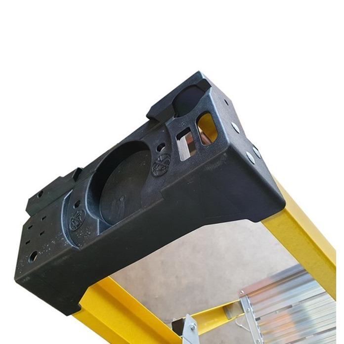 Super-Trade Glass Fibre Platform Step Ladder