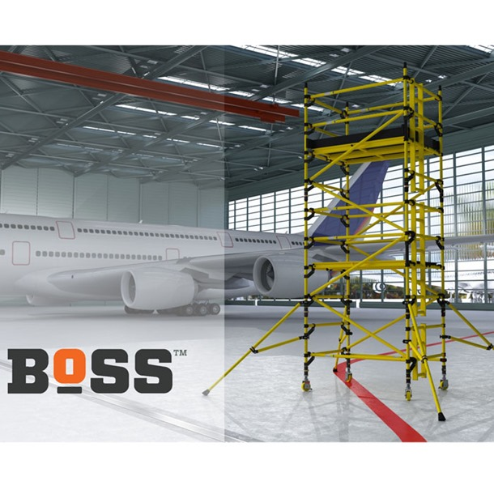 Boss Glass Fibre Double Width Scaffold Towers x 2.5m