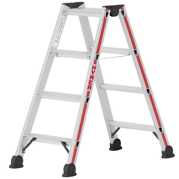 Hymer 4024 Double Sided Stepladder
