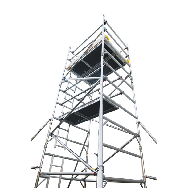 Boss Ladderspan 3T Double Width Scaffold Tower
