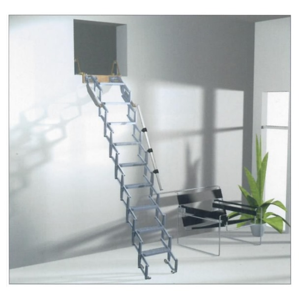 Columbus Junior Vertical Wall Concertina Ladder