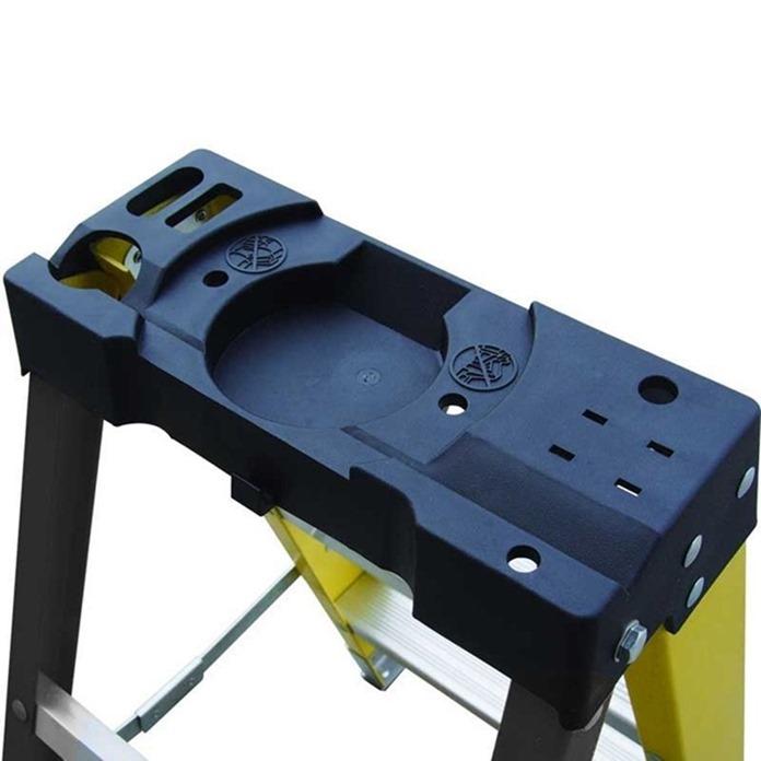 Climb-It Glass Fibre Swingback Stepladders