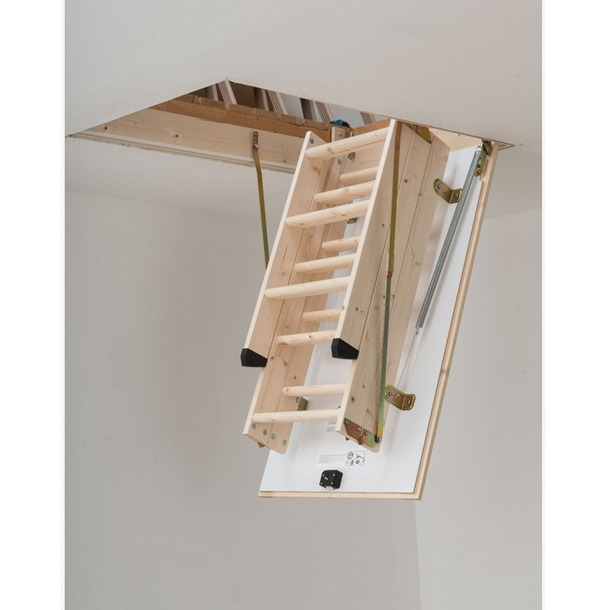 Dolle Hobby (1200 x 700) Wooden Loft Ladder