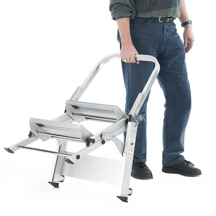 Easy Slope Aluminium Folding Leader Steps
