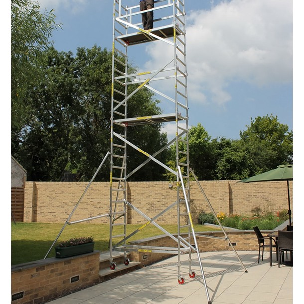 Super DIY Heavy Duty Towers with Height Adjustable Wheels