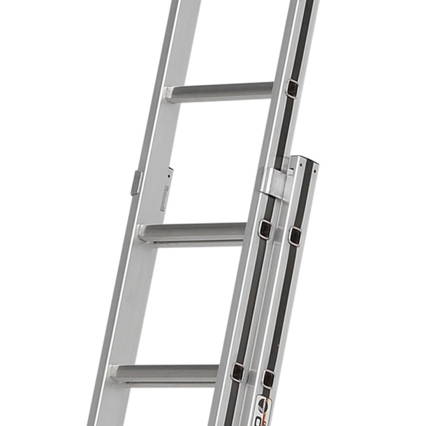 Hymer Black Line Double Extension Ladder