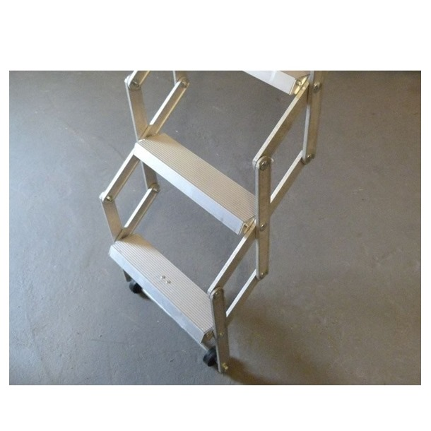 Dolle Alufix Vertical Concertina Loft Ladder