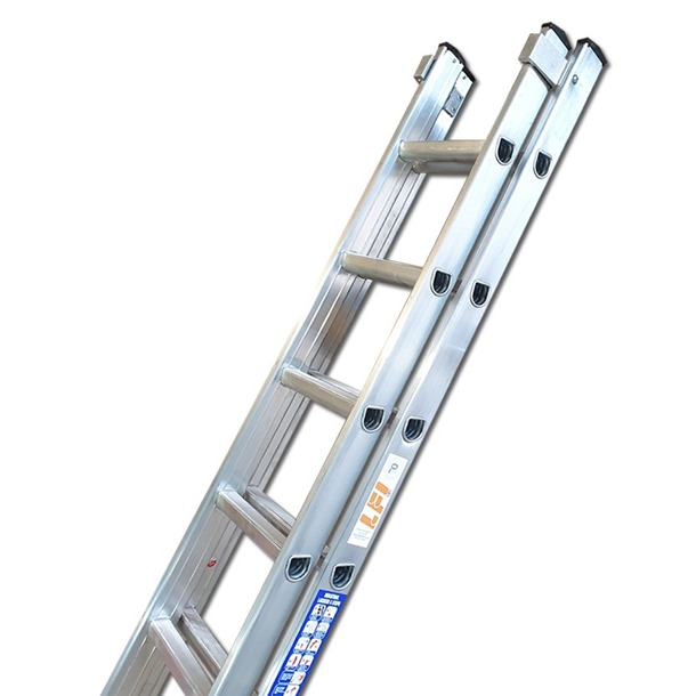 Heavy Duty Double Extension Ladders