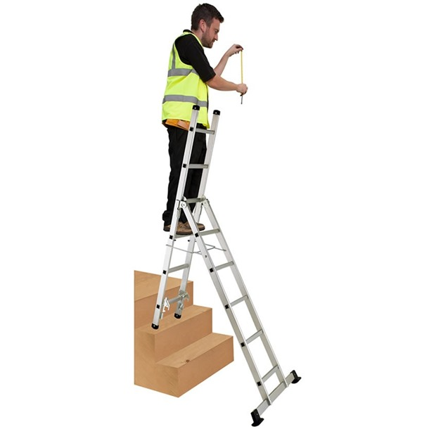 Werner 3 Way Combination Ladder