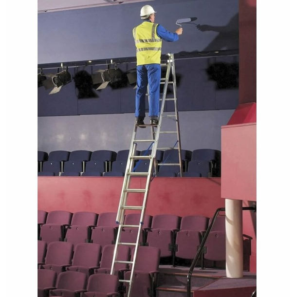 Zarges Z500 Skymaster Trade 3-Part Ladder