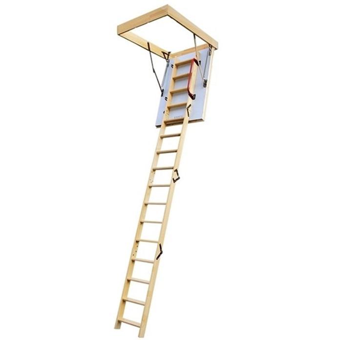 Lyte Easiloft Timber 4 Section Loft Ladder (900 x 550)