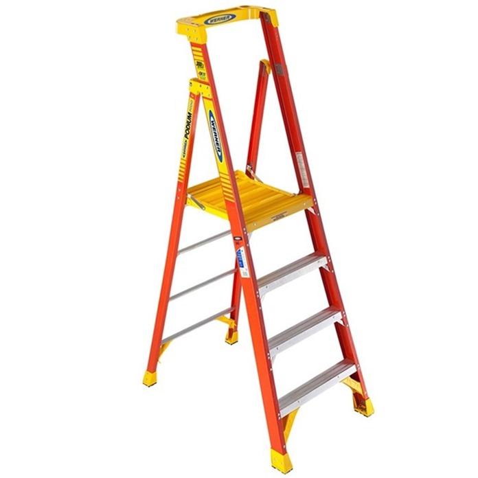720 Series Glass fibre podium Step ladder