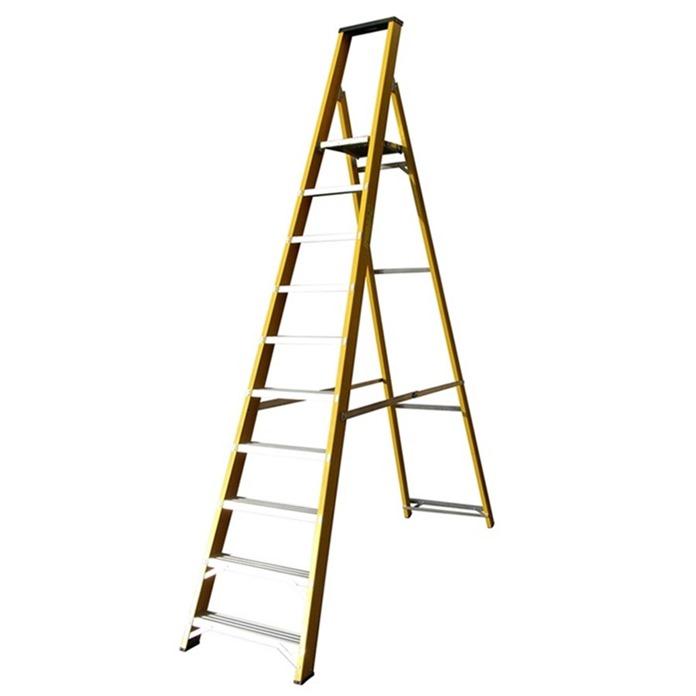 Lyte Trade Glass Fibre Platform Step Ladders