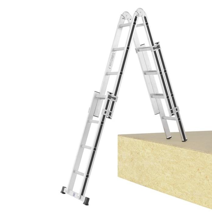 Hymer Black Line Telescopic Combination Ladder
