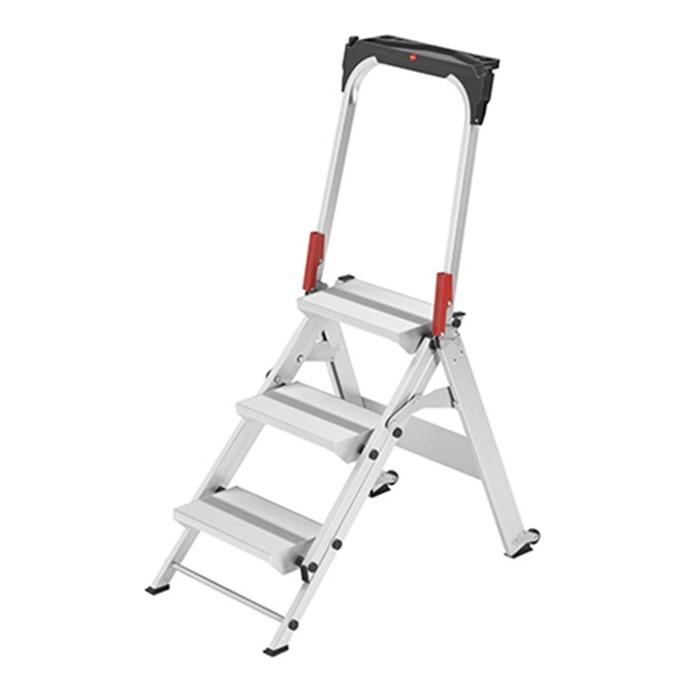 Hailo ST100 Topline Aluminium Safety Step