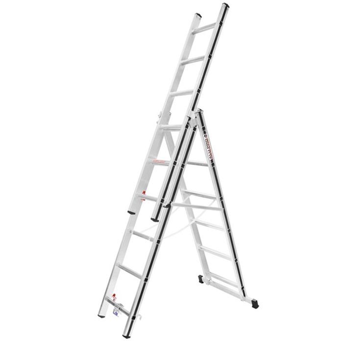 Hymer AluPro Black Line Combination Ladder