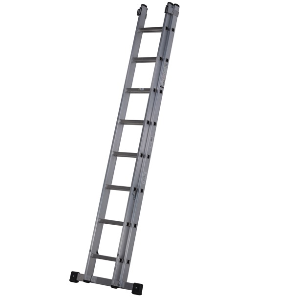 Werner Square Rung Double Extension Ladder