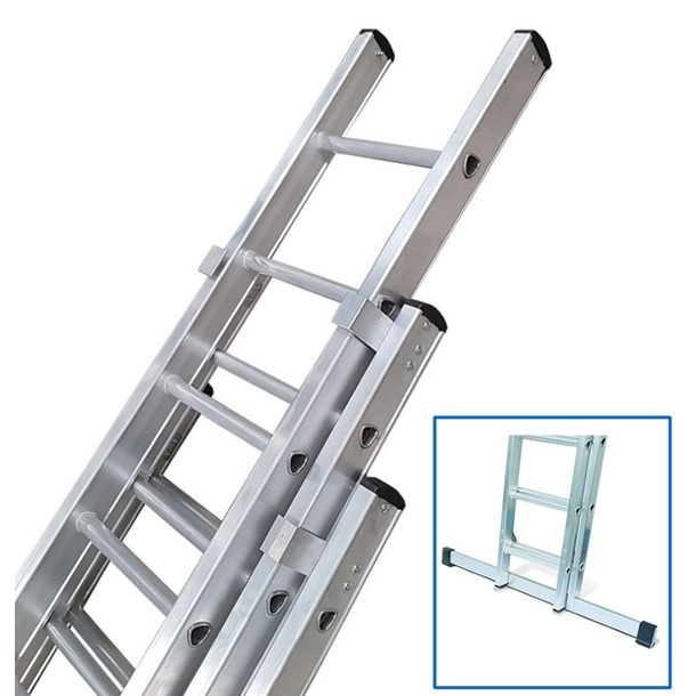Lyte Industrial Triple Extension Ladders