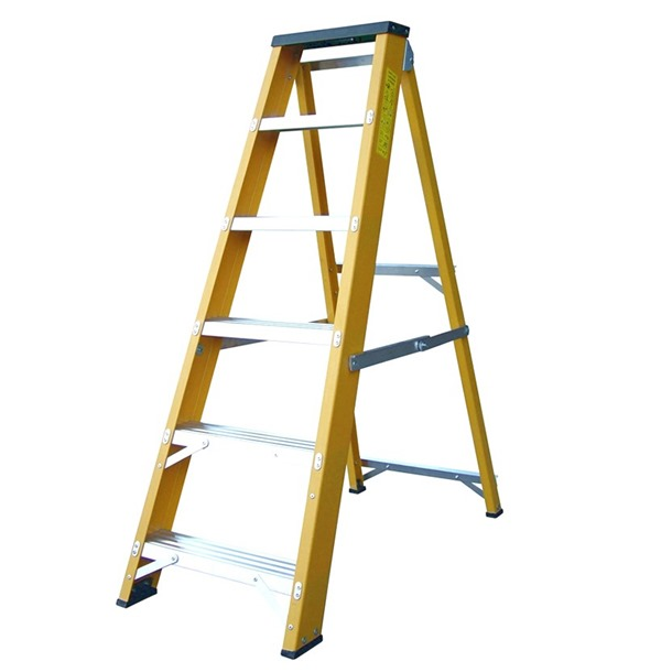 LYTE Glass Fibre Swingback Step Ladders