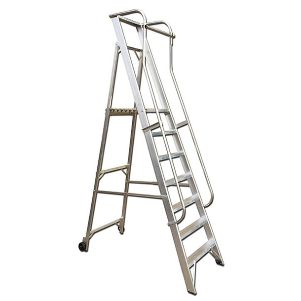 Aluminium Safety Wide Steps
