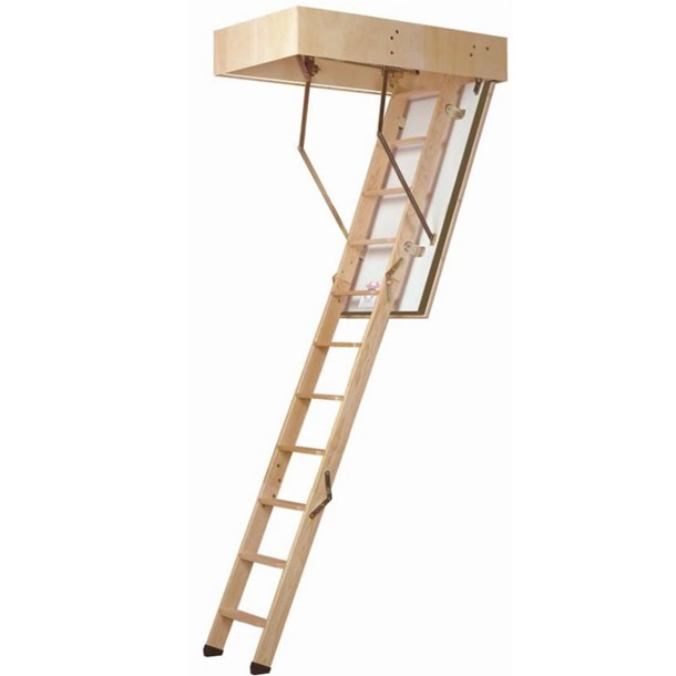 Dolle F30 Wooden Loft Ladder 1200 x 700mm