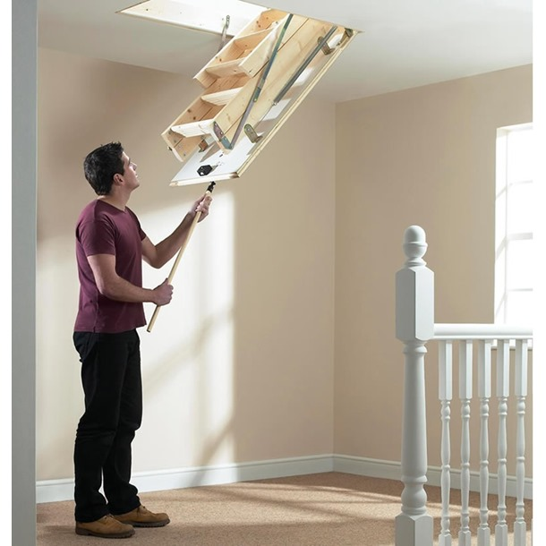 Werner Timber Complete Loft Access Kit (1130 x 550)