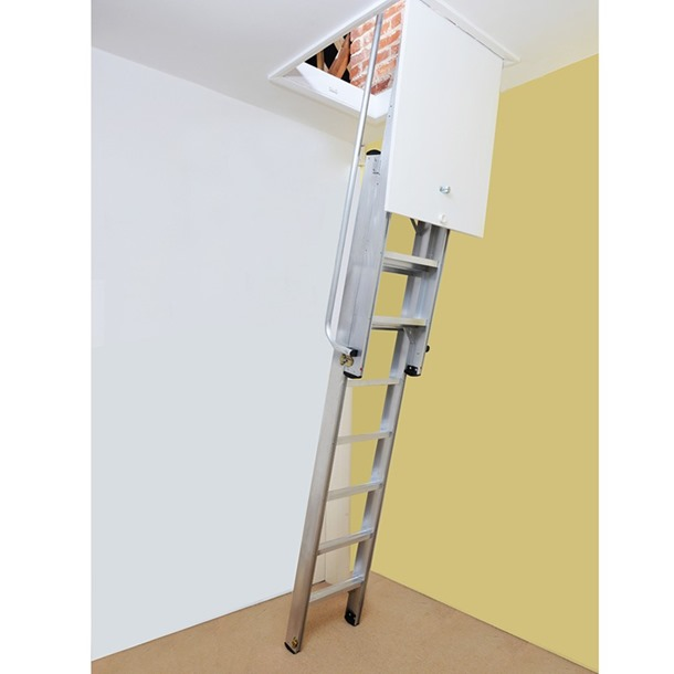 Youngman Deluxe 2 Section Aluminium Loft Ladder