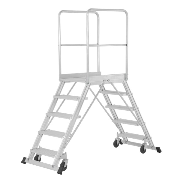 Hymer Double Sided Mobile Warehouse Step