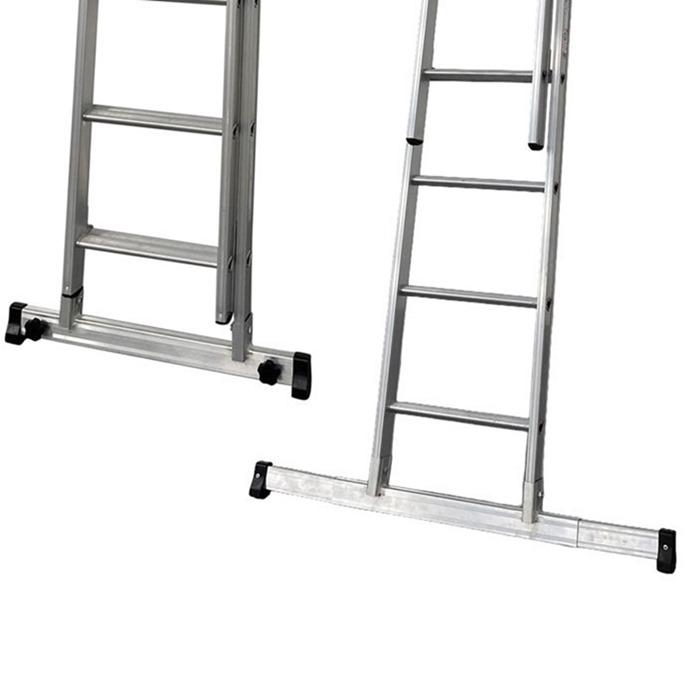 DMAX Double Extension Ladder - Adjustable Stabiliser