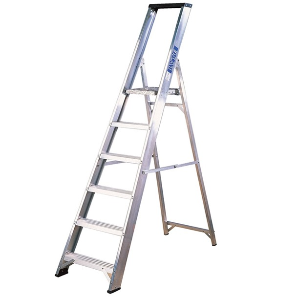 Professional Platform Step Ladders with Tool Tray